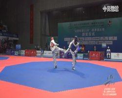 二青会跆拳道(俱乐部组)男子69公斤级决赛