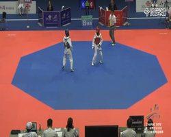 二青会跆拳道(俱乐部组)女子40公斤级决赛