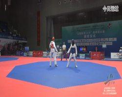 二青会跆拳道(俱乐部组)女子59公斤级决赛