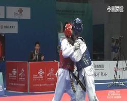 二青会跆拳道(俱乐部组)女子48公斤级决赛