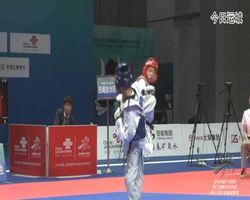 二青会跆拳道(俱乐部组)女子51公斤级决赛